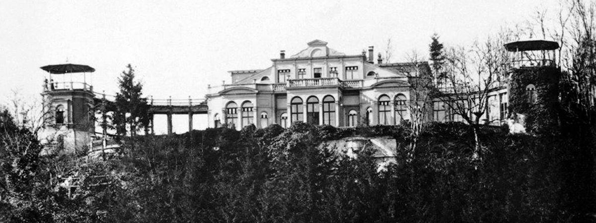 Schloss Charlottenfels Neuhausen Postkarte